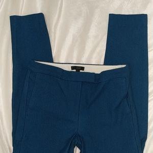J.Crew blue ankle work pants size 2
